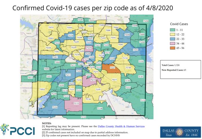 Dallas County COVID-19 Update 4/9/20