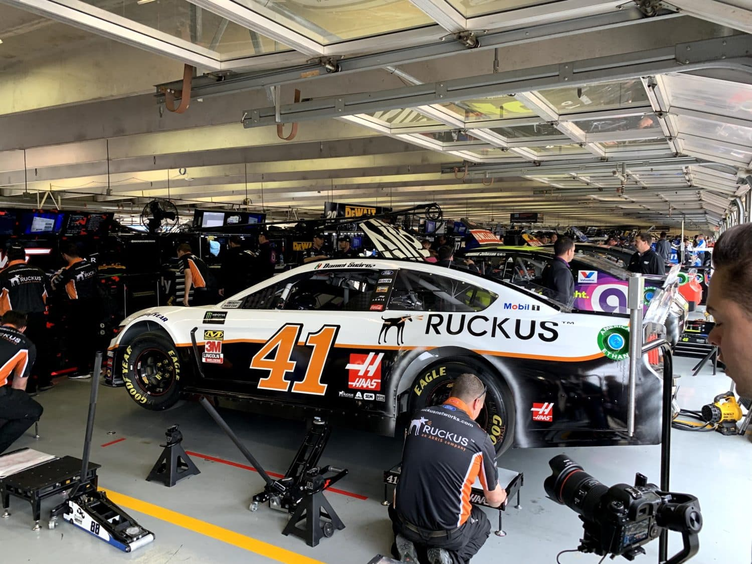 NASCAR and its teams are eager and excited to return to racing, and have great respect for the responsibility that comes with a return to competition