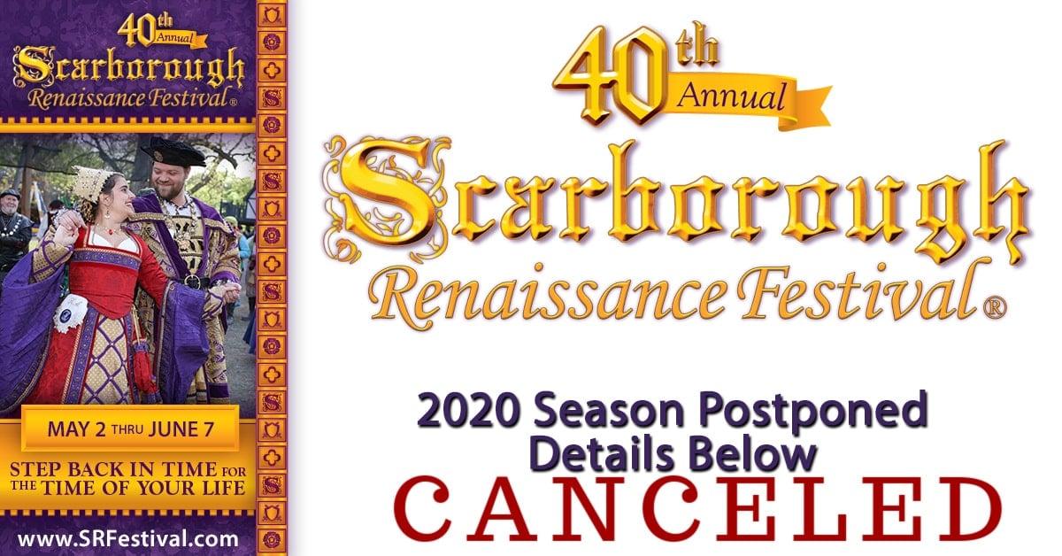 Scarborough renaissance festival canceled