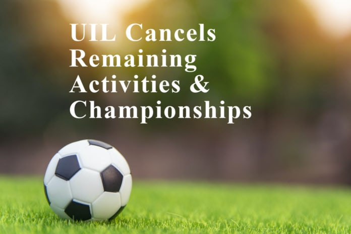 UIL 2019-2020 canceled