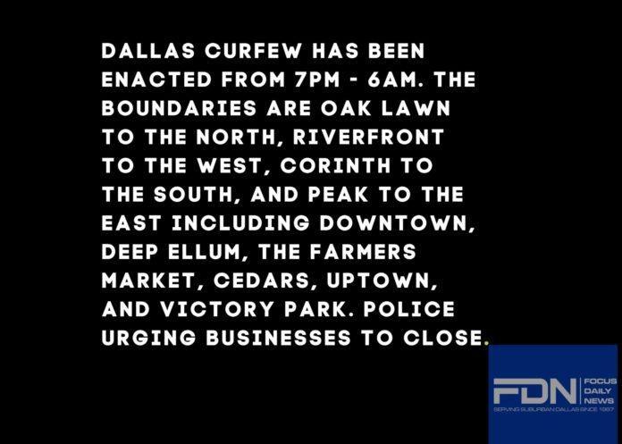 Dallas Curfew