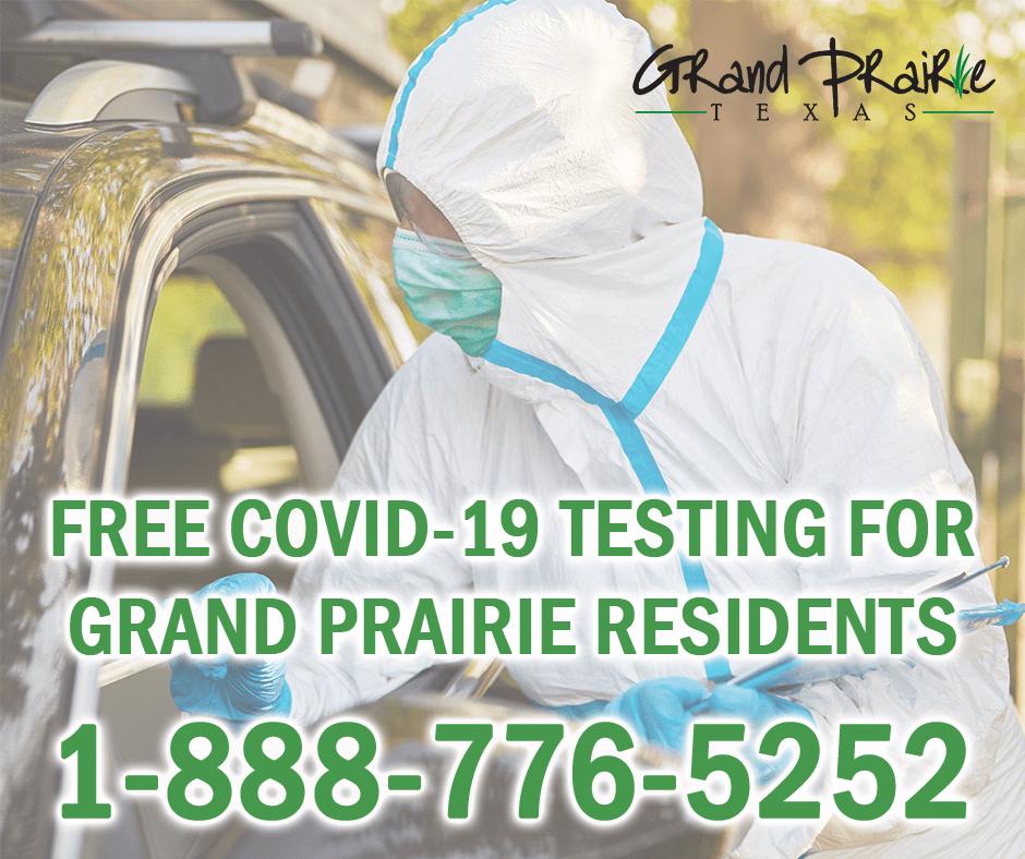 Grand Prairie COVID-19 testing