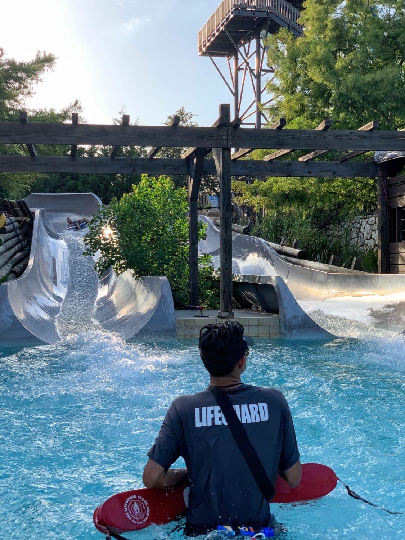 Water Slide JW Marriott San Antonio