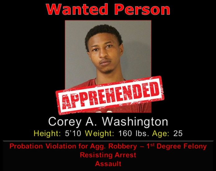DeSoto police wanted person poster