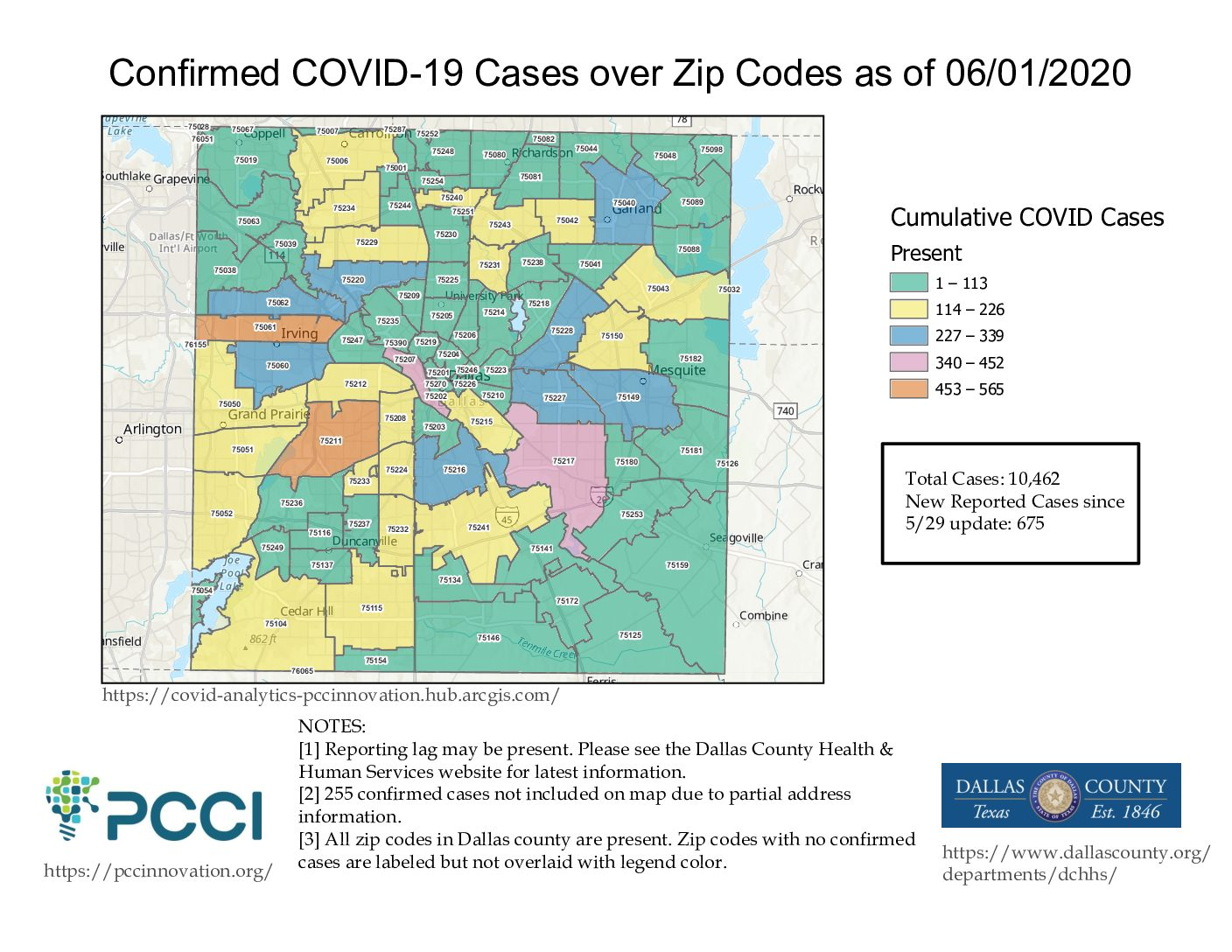 16 New COVID-19 Deaths in Dallas County, 257 New Cases
