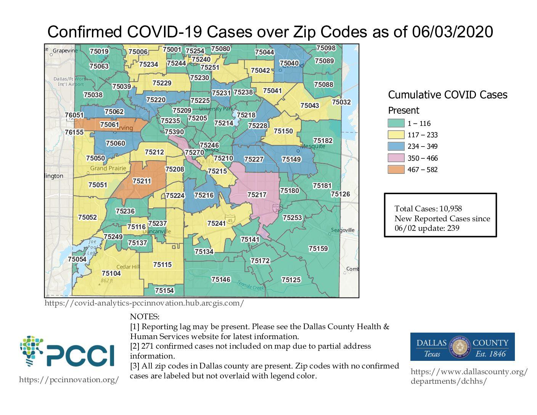 Over 11,000 COVID-19 Cases In Dallas County & Rising