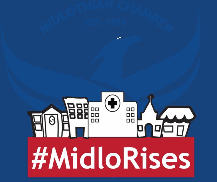 Midlo Rises logo