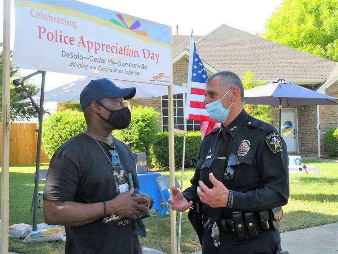 DeSoto Police appreciation event