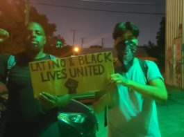protests in Oak Cliff