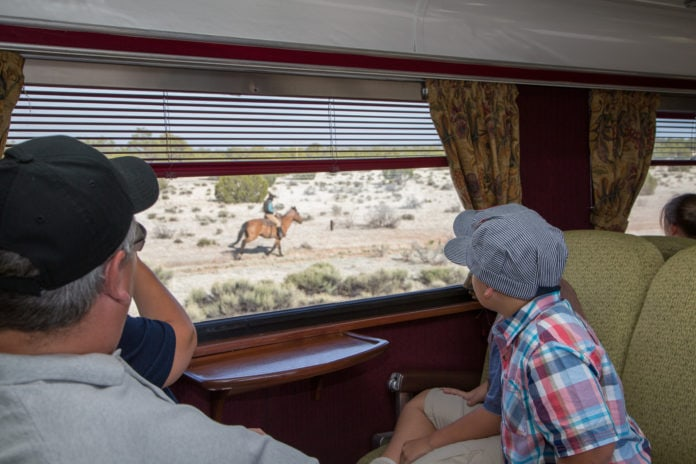 Grand Canyon Railway Reopens