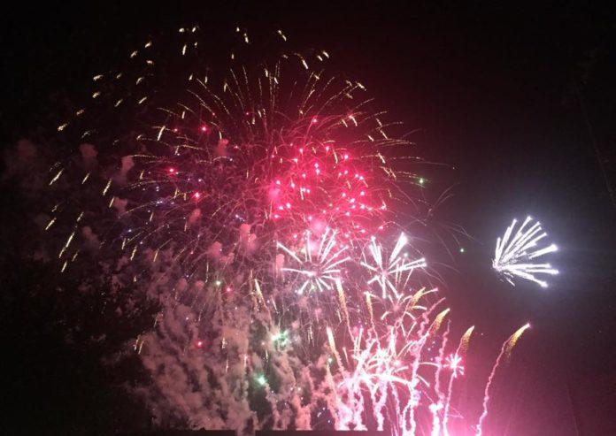 Mansfield fireworks