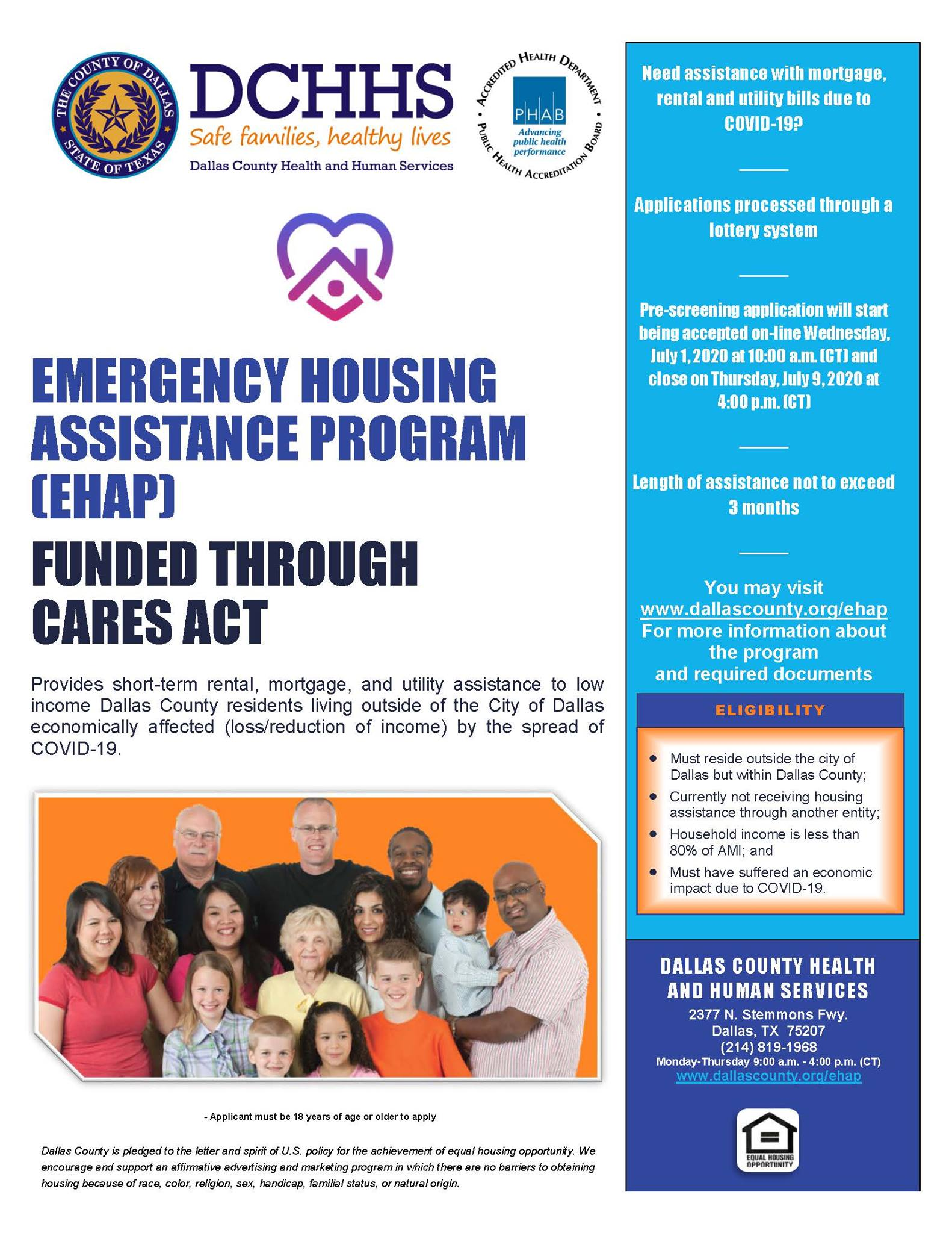 Emergency Housing Flyer