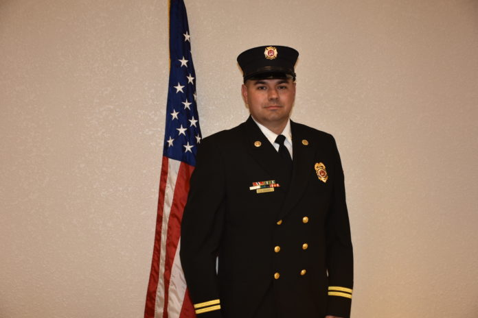 Glenn Heights Fire Captain Justin Rudd