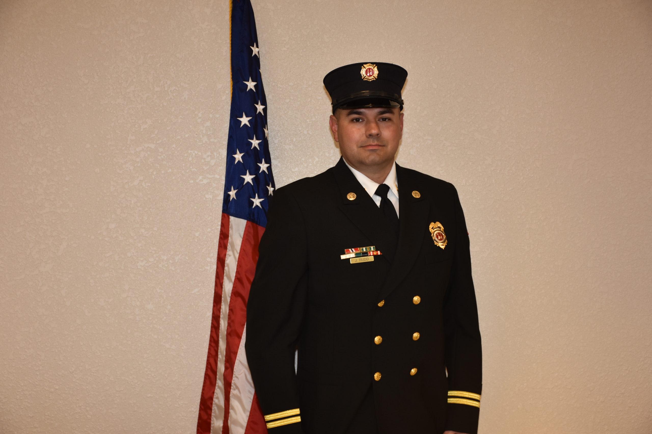 Glenn Heights Fire Captain Justin Rudd