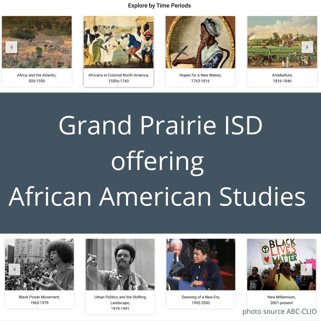 GPISD African American studies