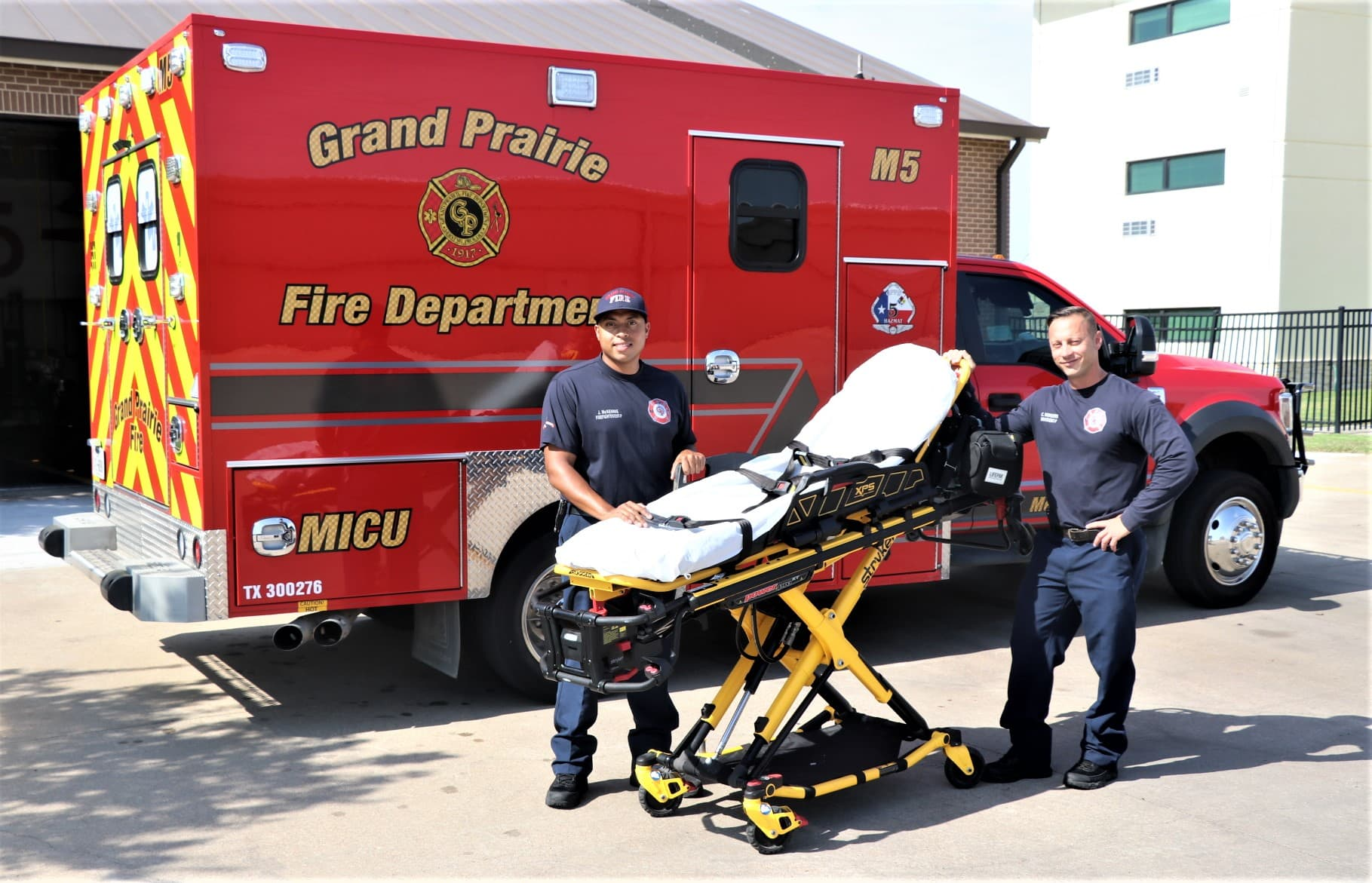 Grand Prairie Fire Department ambulance