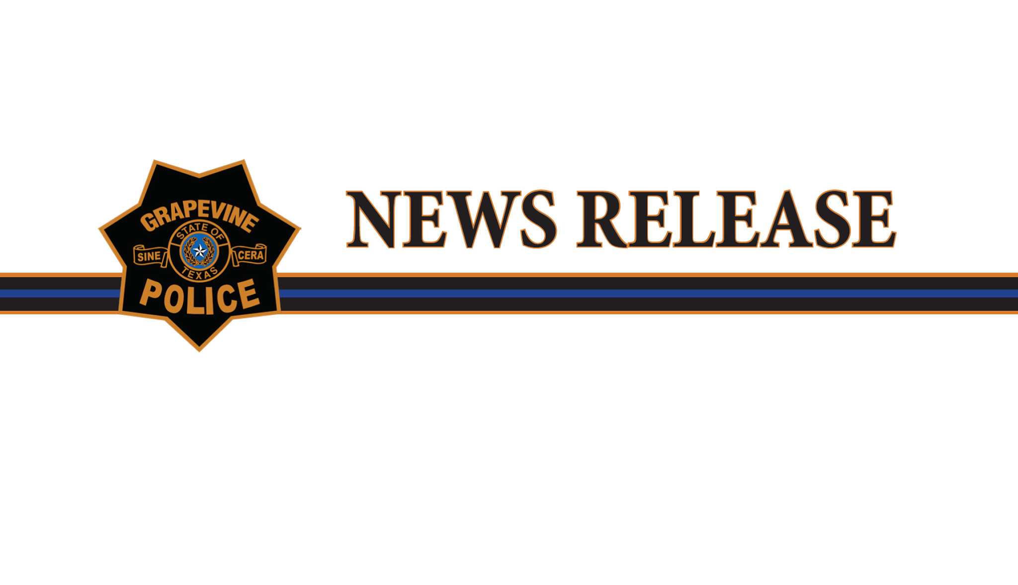 Grapevine Police press release