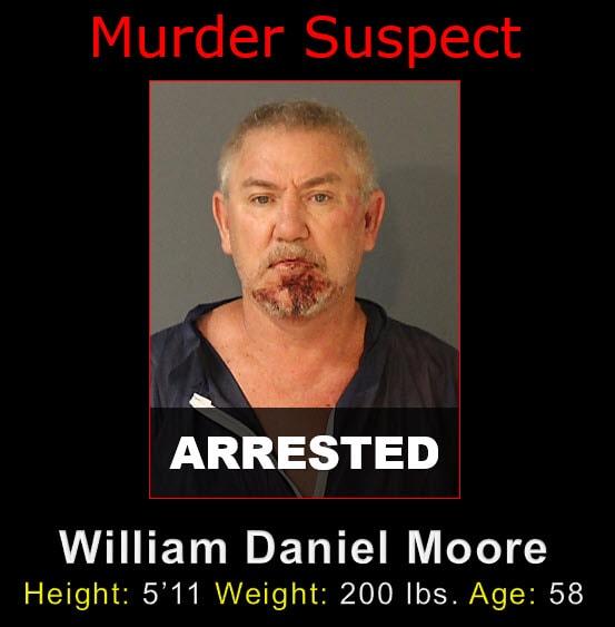 """Nugshot of William Daniel """"Bill"""" Moore"""