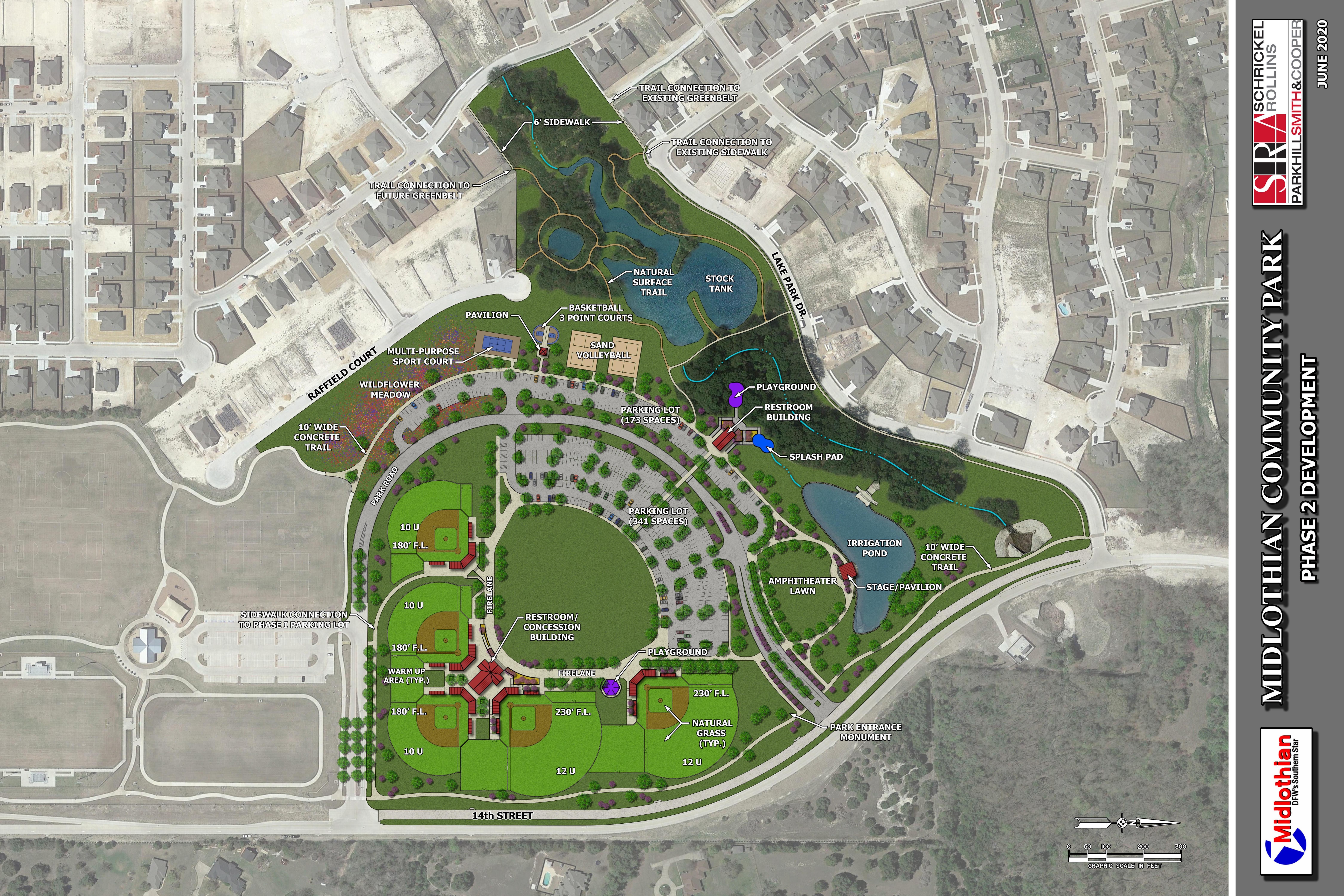 Midlothian Community Park Master Plan