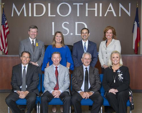 Midlothian ISD School Board photo