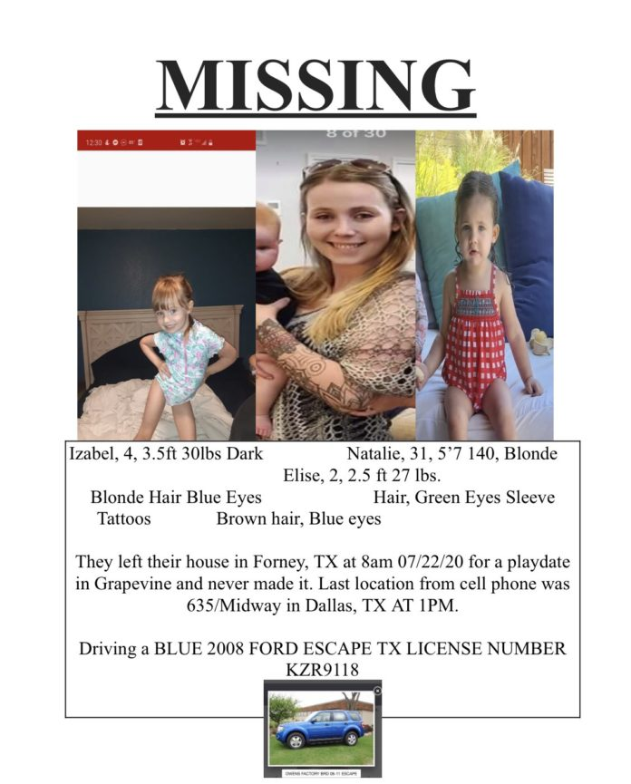 Missing Poster Natalie Chambers