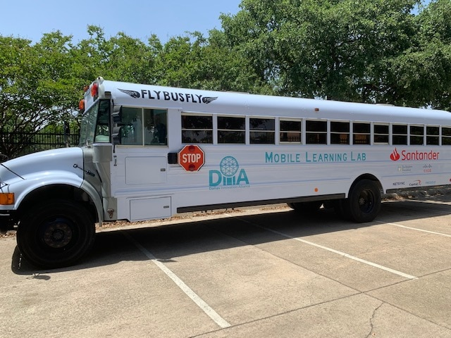 Mobile Learning Lab bus