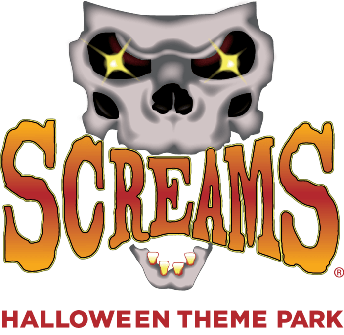 Screams Halloween logo