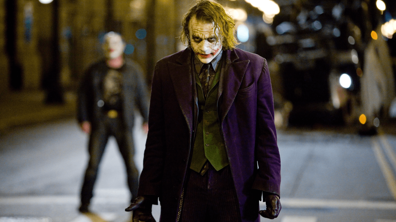 The Joker in Dark Knight