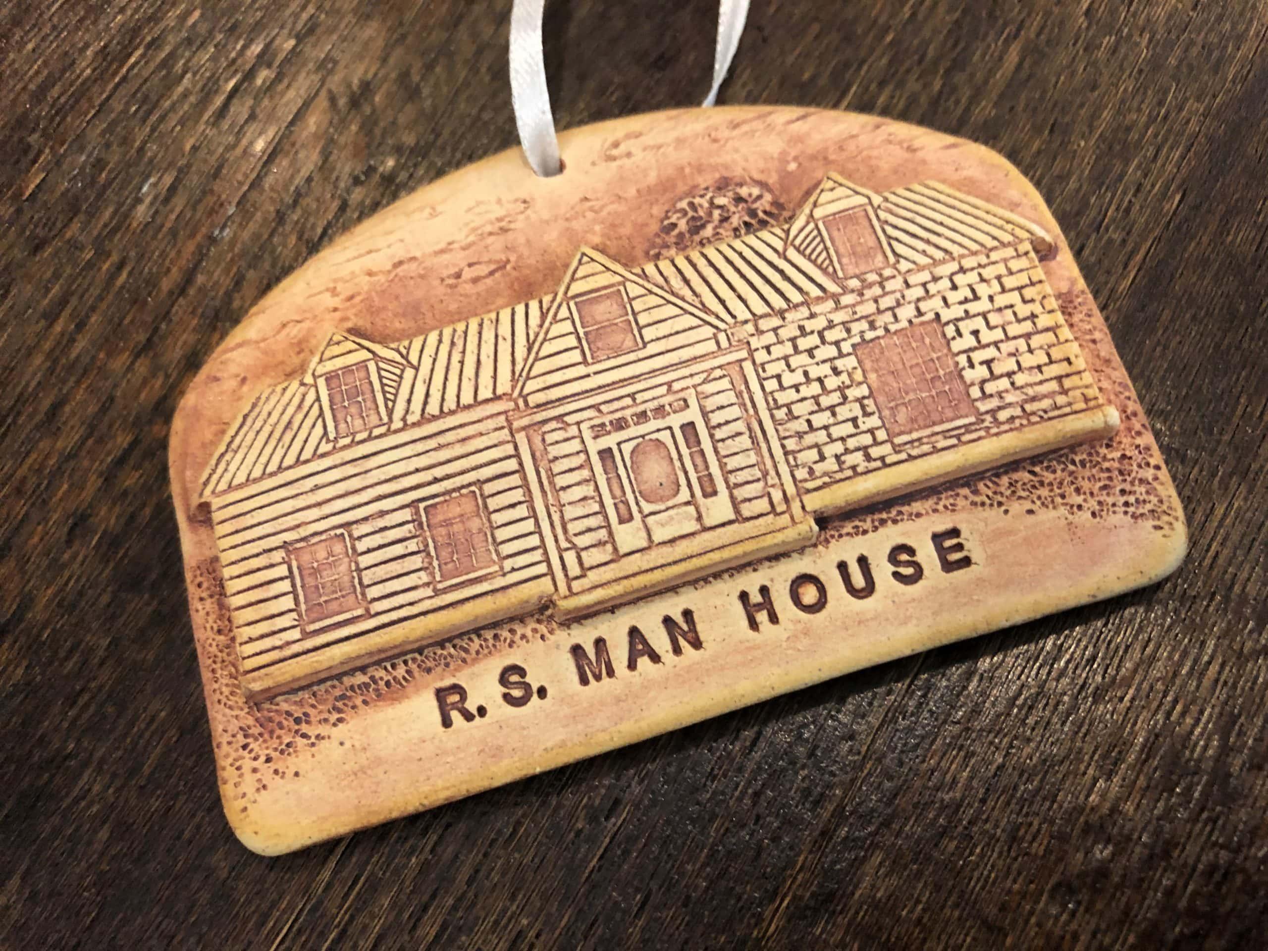Man House ornament