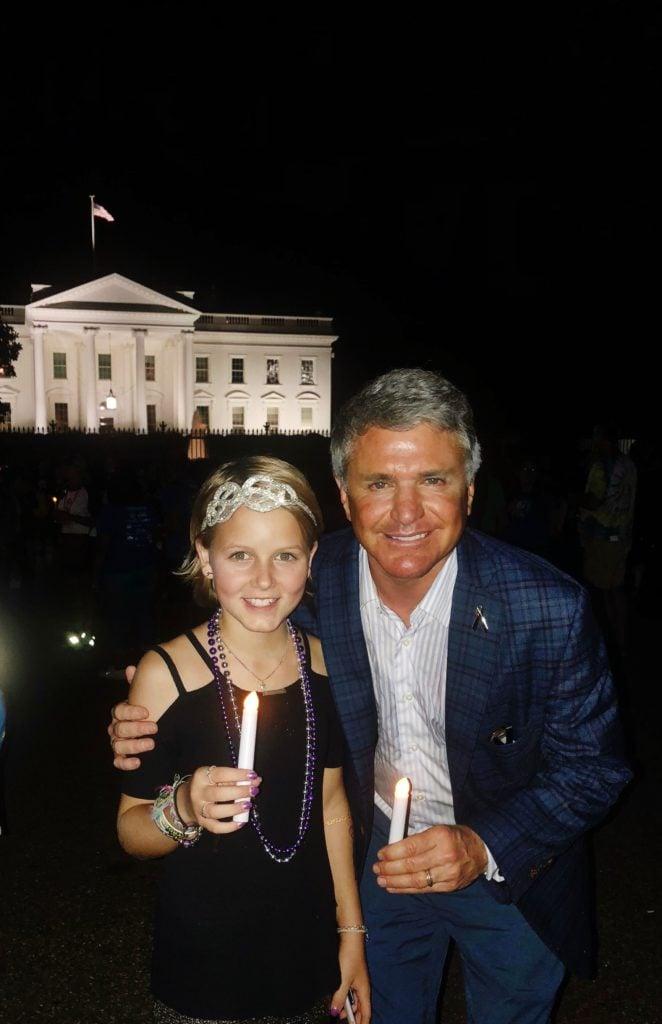 Sadie Keller with Congressman mcCaul