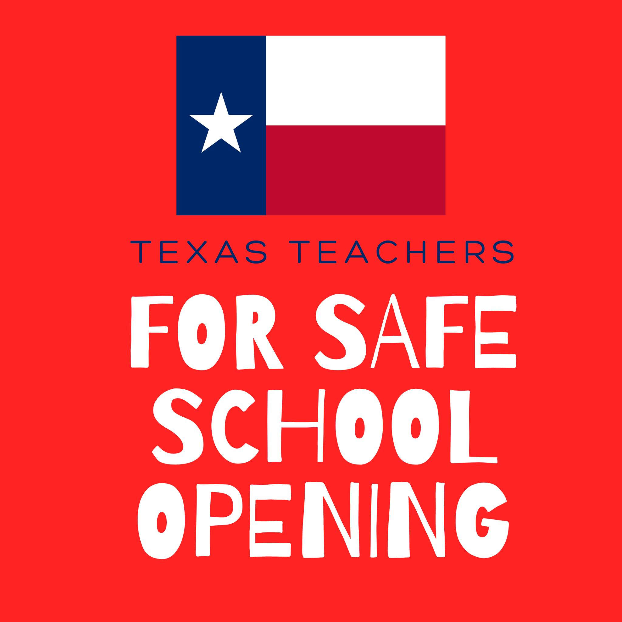 Graphic for Texas Teachers school safe opening