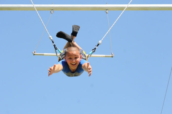 Flying High at Skyline Trapeze