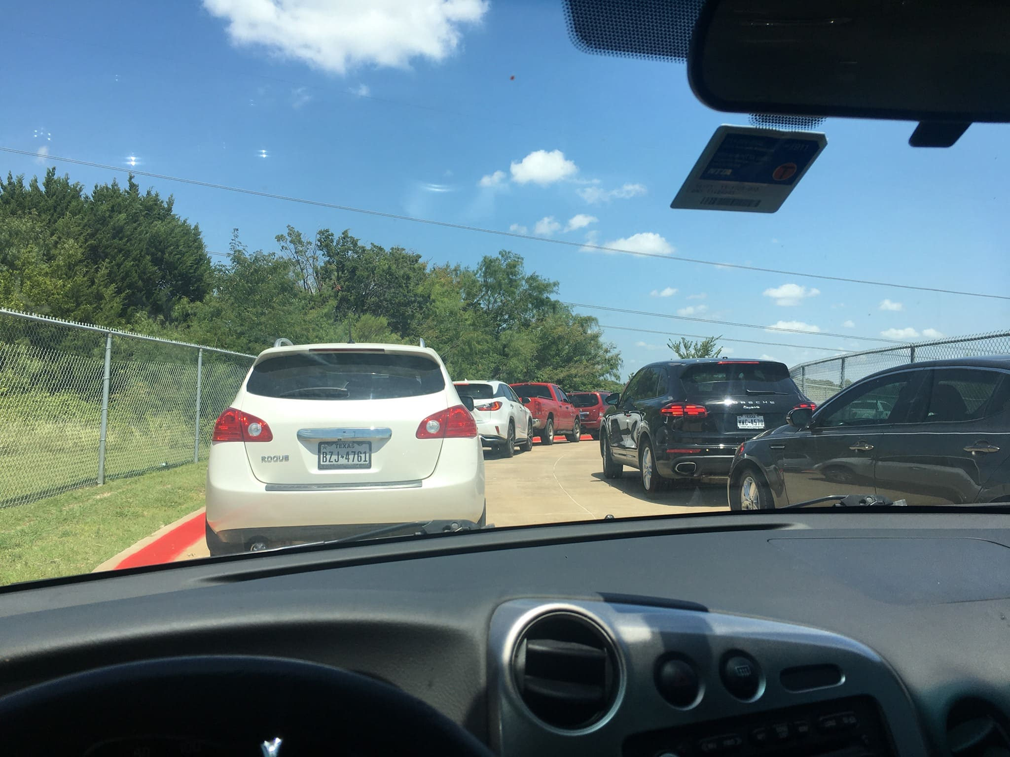 Traffic at Timberview High School