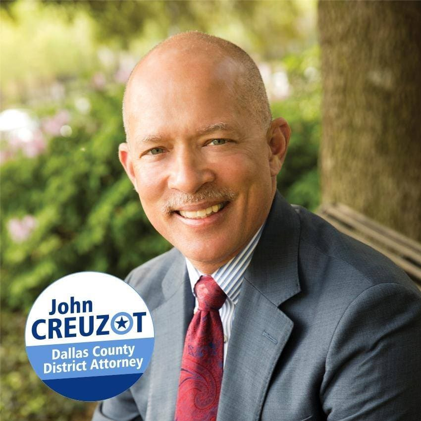Dallas County District Attorney John Creuzot