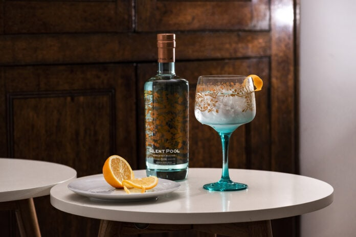 gin and tonic with Silent Pool Gin