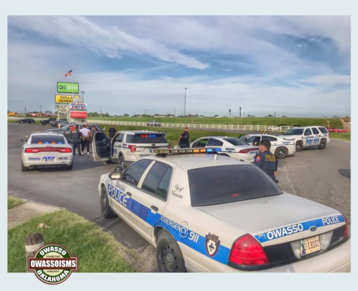 Oswasso Police cars