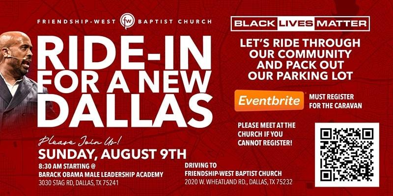 black lives matter ride in poster