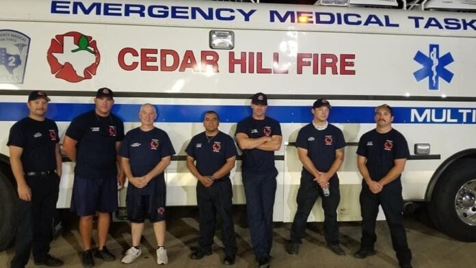 Cedar Hill Fire Ambus Team