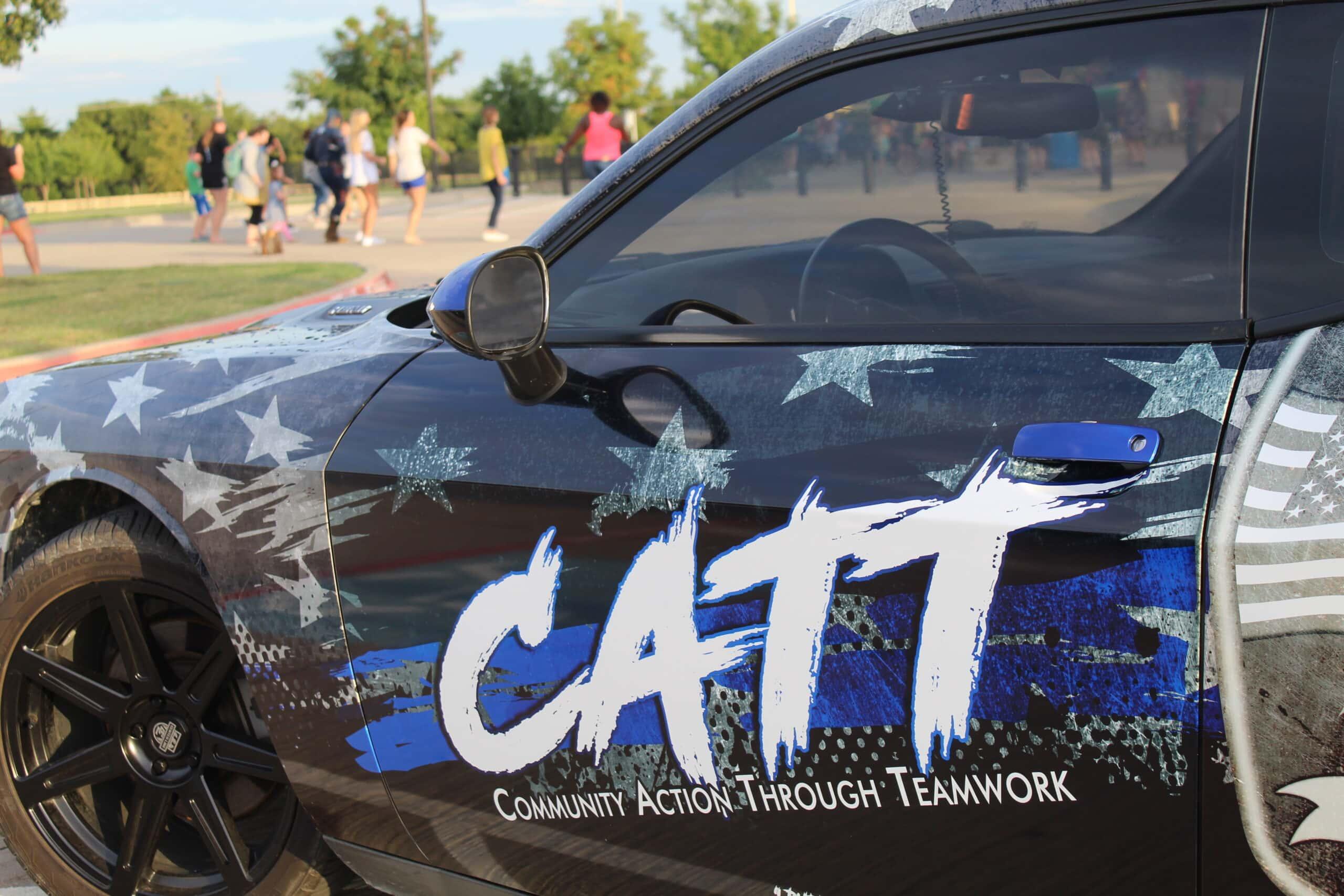 Midlothian CATT police car