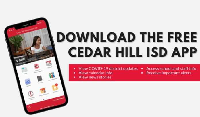 Cedar Hill ISD mobile app