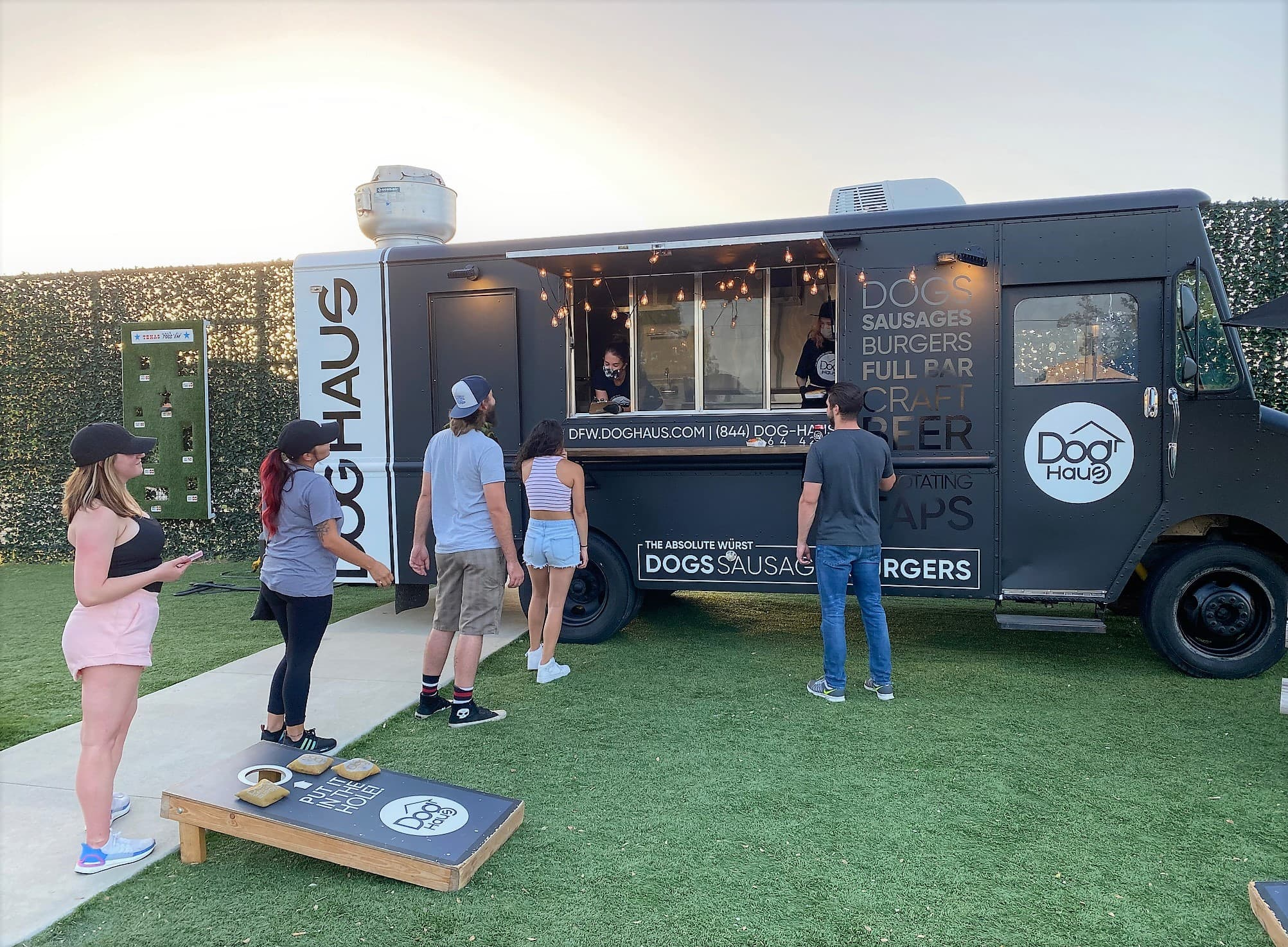 dog haus food truck