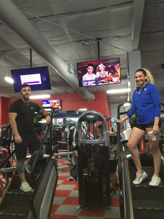Workout Anytime Duncanville Joins 9-11 Stair Climb