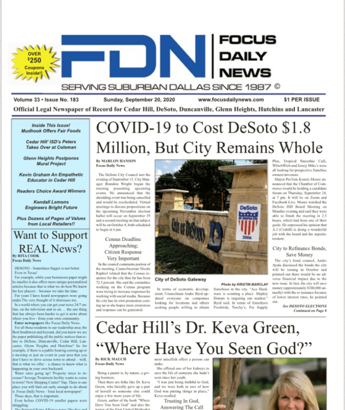 Focus Daily News cover