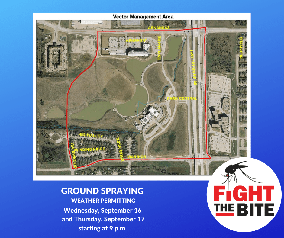 Grand Prairie mosquito map