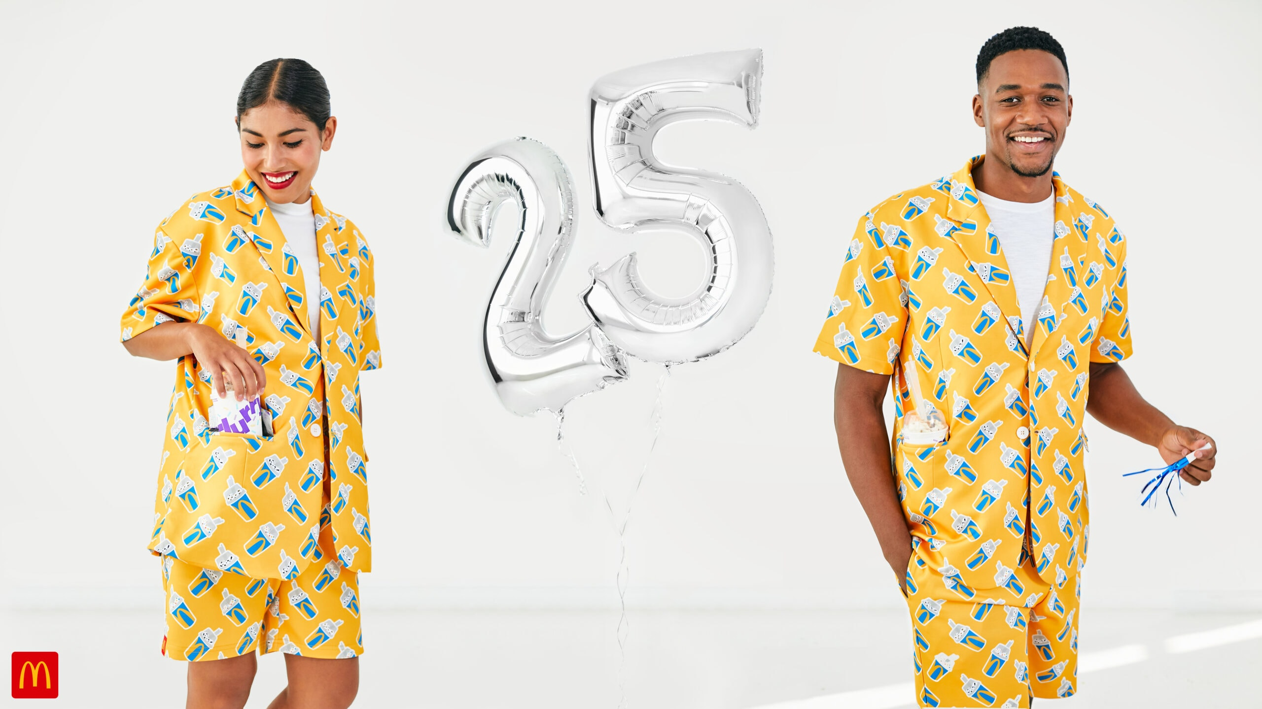 McDonalds McFlurry 25th B Day Suit