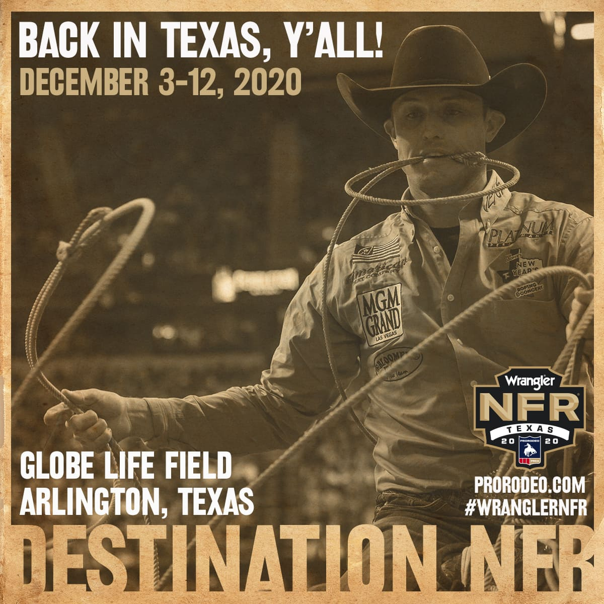 National Finals Rodeo poster