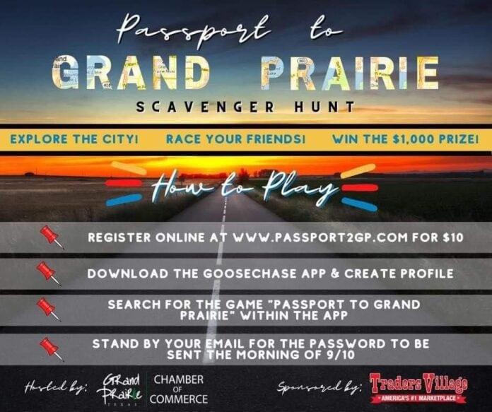 passport to Grand prairie flyer
