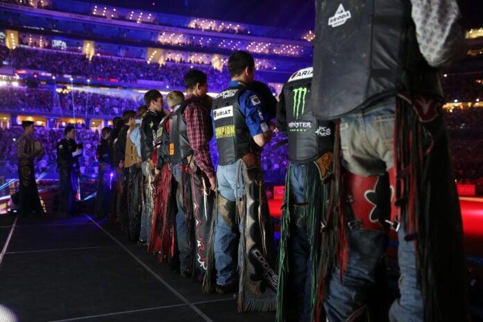 Cowboys at PBR in Arlington