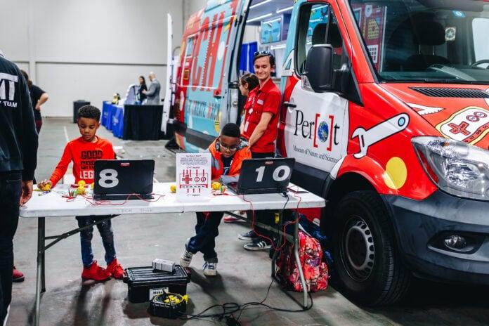 Perot Museum Tech truck
