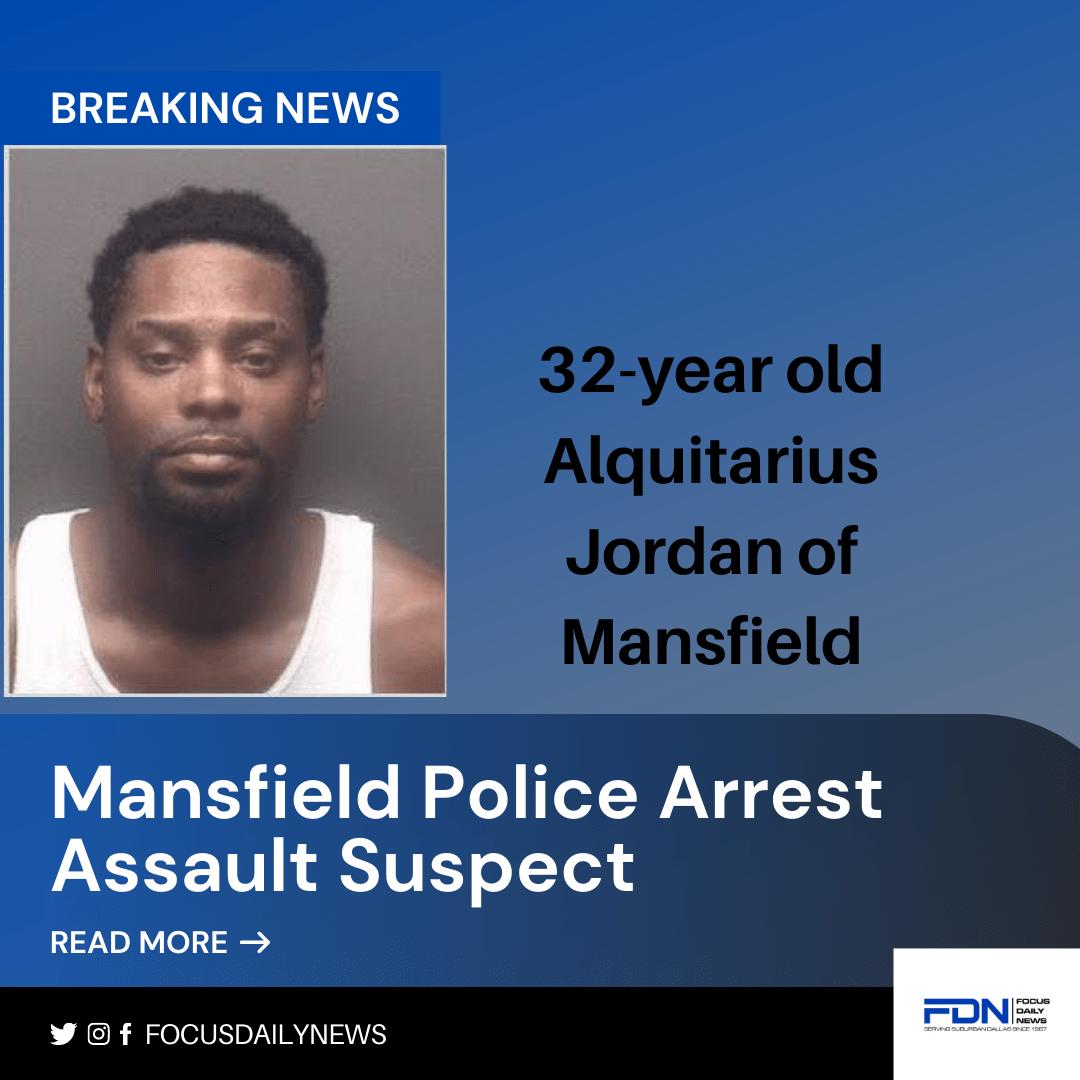 Mansfield Assault Arrest Poster